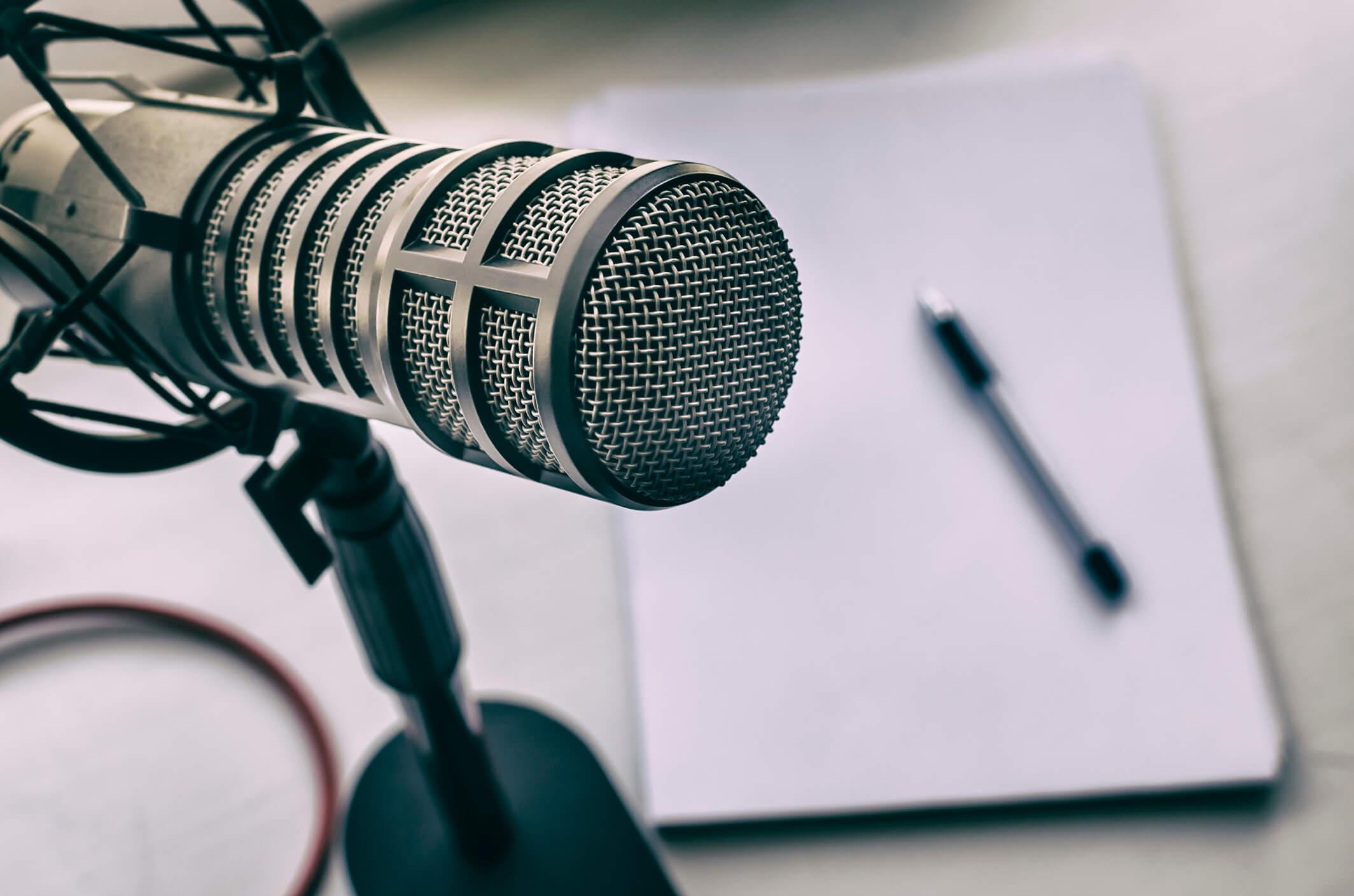 Podcastmikrofon