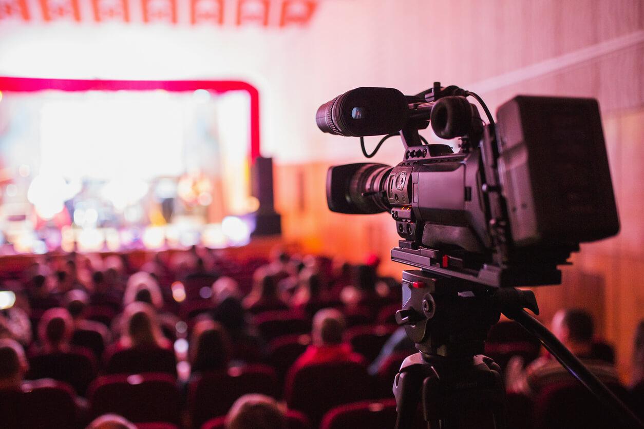 Filmning av event
